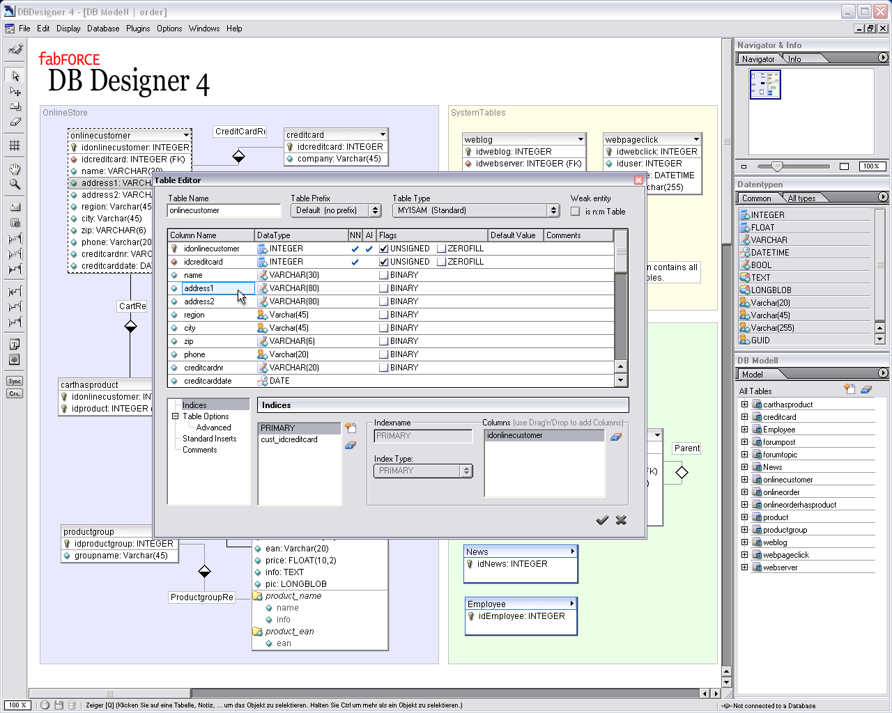 DBDesigner 4 - DBMS Tools on system mapping tools, map tools, process mapping tools, database models, database clip art, database tables, gis mapping tools, communication mapping tools, database support, content mapping tools, database training, project mapping tools, database column vs row, database technology, database hardware, business mapping tools, client mapping tools, database security, database diagram, project management tools,
