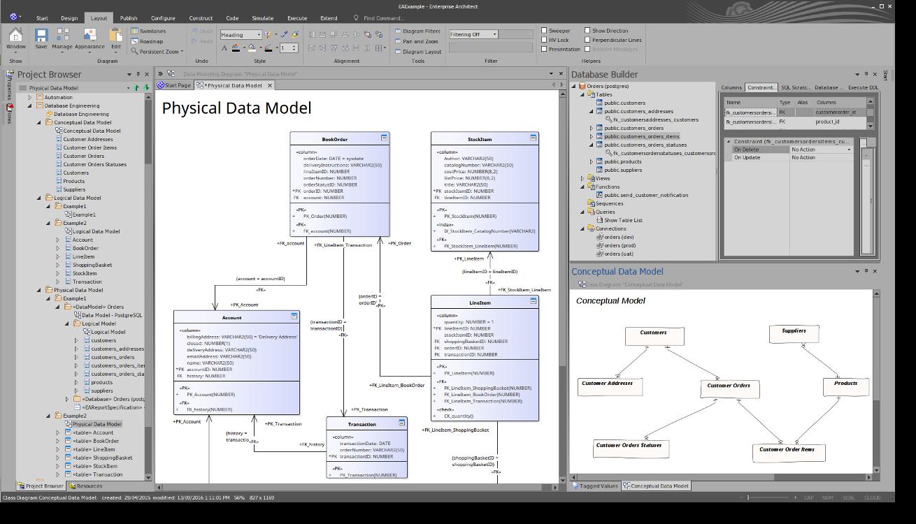 Enterprise Architect   DBMS Tools