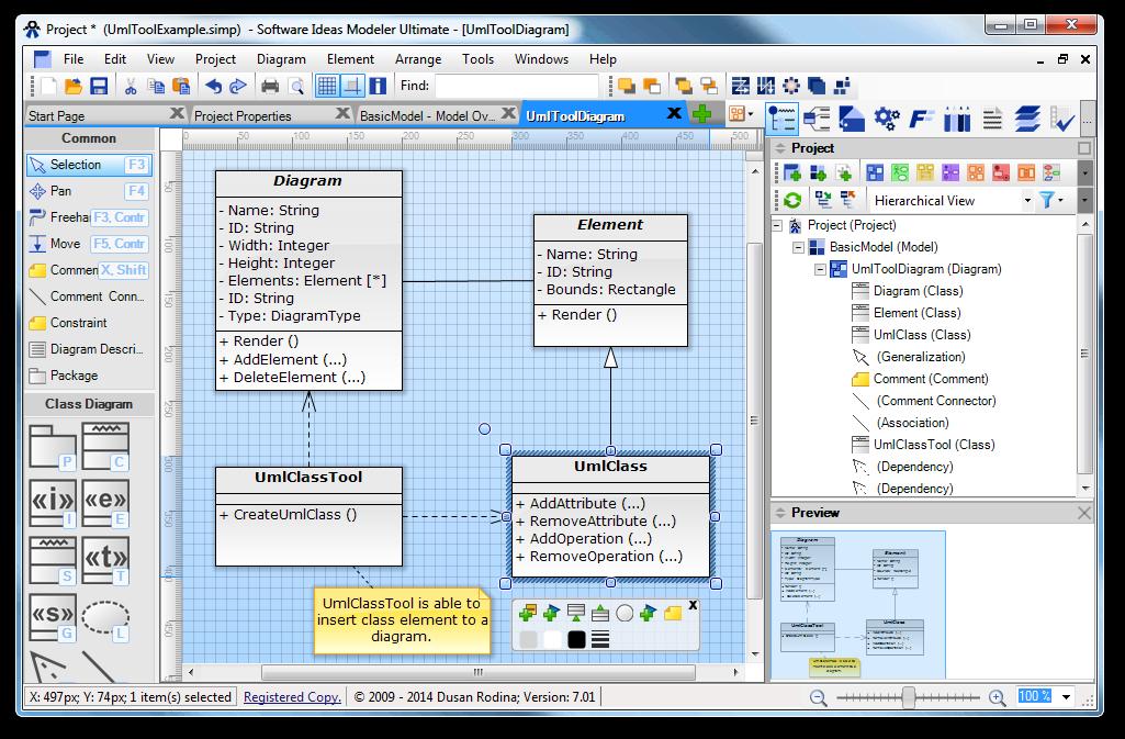 Software Ideas Modeler